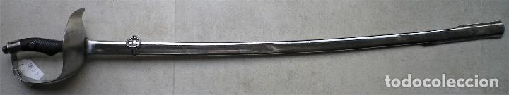 Militaria: Sable ROBERT modelo 1895 para Institutos Montados, grabado para oficial de Infantería. - Foto 13 - 187320115