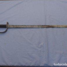 Militaria: * ANTIGUA BAYONETA ESPADA INGLESA DE SIERRA, MODELO 1879, GUERRA CIVIL, ORIGINAL. ZX. Lote 187376972