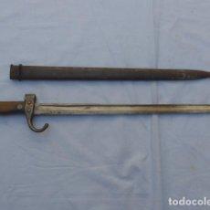 Militaria: * ANTIGUA BAYONETA FRANCESA MODELO 1892 DE LA GUERRA CIVIL, ORIGINAL. FRANCIA. ZX. Lote 187378128