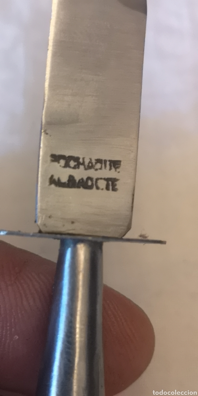 Militaria: Miniatura de cuchillo albaceteño marca Pochaque mide 13 cm - Foto 2 - 188710188