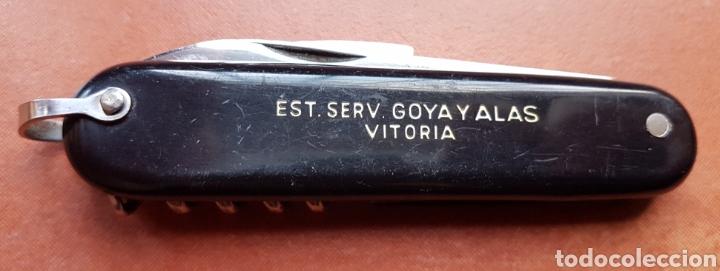 Militaria: Navaja Firestone estacion servicio Goya y Alas Vitoria. - Foto 2 - 189222550