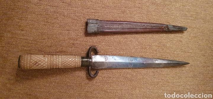 ANTIGUA DAGA - PUÑAL (Militar - Armas Blancas Originales Fabricadas entre 1851 y 1945)