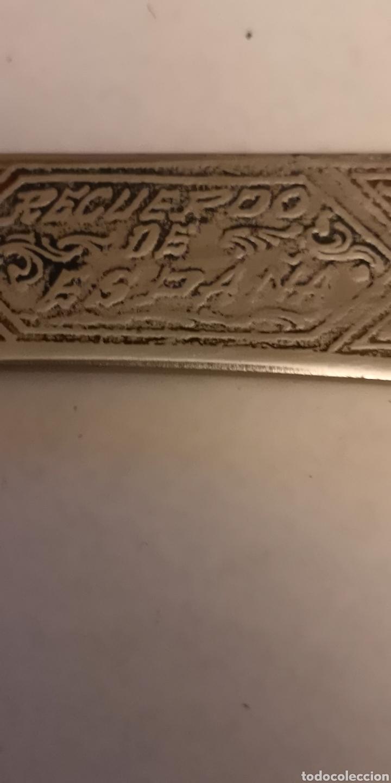 Militaria: Antigua hacha - cuchillo grabada albaceteña, grabados cinegéticos - Foto 5 - 190151333