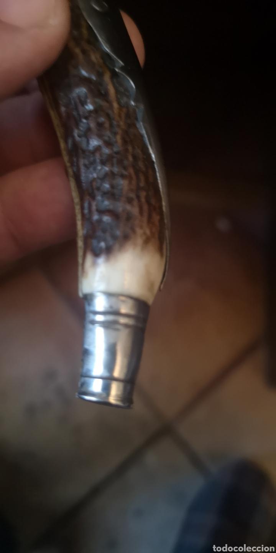 Militaria: Antigua navaja albaceteña grabado al ácido - Foto 4 - 190321058