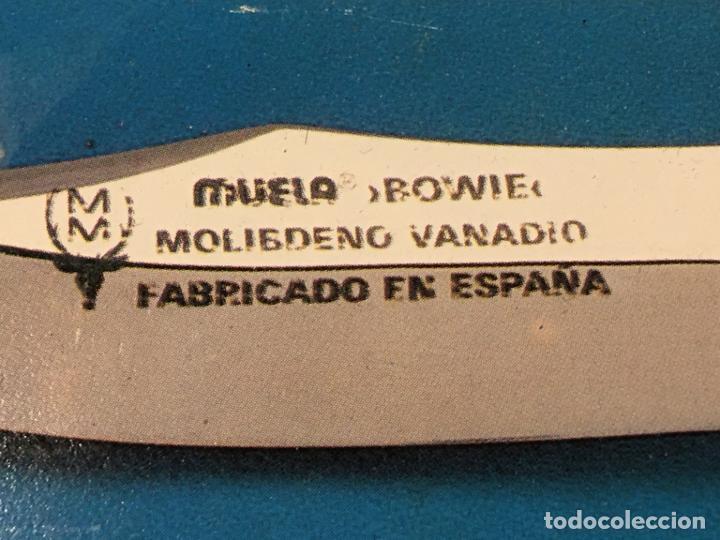 Militaria: cuchillo deportivo furtivo monte caza marca Muela artesania molibdeno vanadio. mide 21 cms - Foto 2 - 190472886
