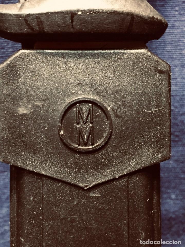 Militaria: puñal muela phillip bronkhorst SAFARIS FUNDA PLASTICO NEGRO TIPO SUBMARINISMO MUY POCO USO 30X5CMS - Foto 2 - 191134125