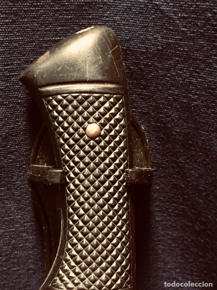 Militaria: puñal muela phillip bronkhorst SAFARIS FUNDA PLASTICO NEGRO TIPO SUBMARINISMO MUY POCO USO 30X5CMS - Foto 15 - 191134125