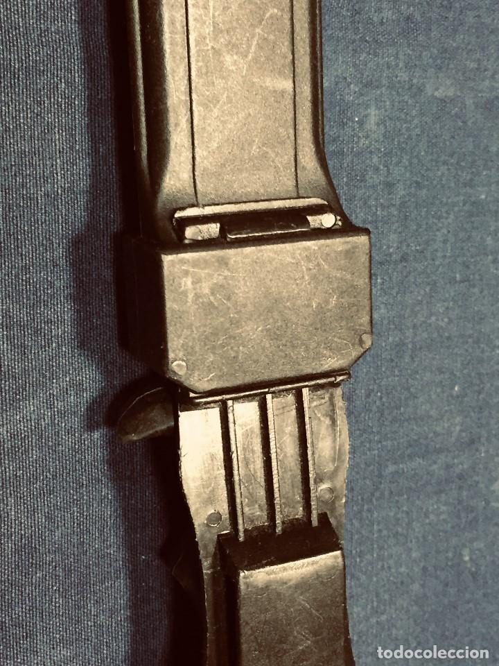 Militaria: puñal muela phillip bronkhorst SAFARIS FUNDA PLASTICO NEGRO TIPO SUBMARINISMO MUY POCO USO 30X5CMS - Foto 17 - 191134125