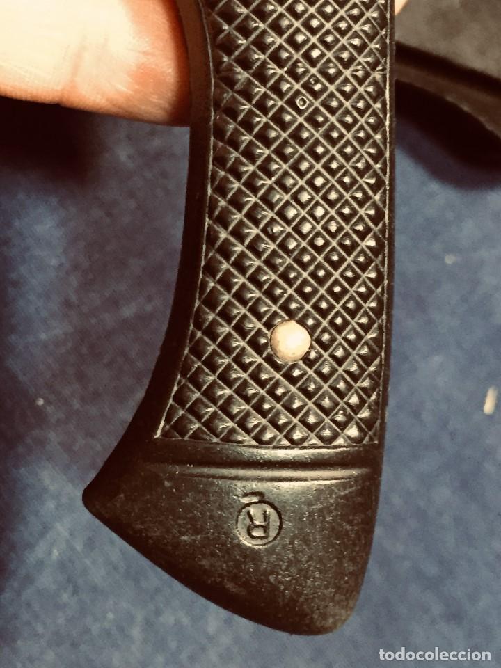 Militaria: puñal muela phillip bronkhorst SAFARIS FUNDA PLASTICO NEGRO TIPO SUBMARINISMO MUY POCO USO 30X5CMS - Foto 20 - 191134125