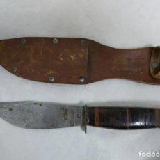 Militaria: ANTIGUO CUCHILLO DE CAZA. Lote 191311990