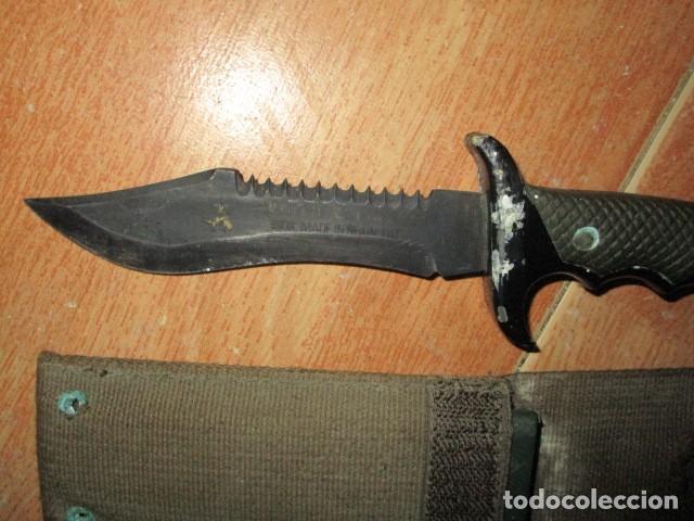 Militaria: OFERTA envio gratuito ! EL BUEN CAZADOR CUCHILLO puñal o daga REALIZADA EN ESPAÑA CON SU BAINA - Foto 6 - 191327411