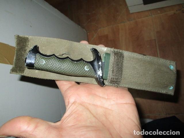 Militaria: OFERTA envio gratuito ! EL BUEN CAZADOR CUCHILLO puñal o daga REALIZADA EN ESPAÑA CON SU BAINA - Foto 8 - 191327411