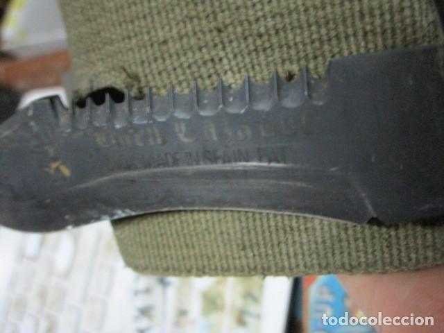 Militaria: OFERTA envio gratuito ! EL BUEN CAZADOR CUCHILLO puñal o daga REALIZADA EN ESPAÑA CON SU BAINA - Foto 4 - 191327411