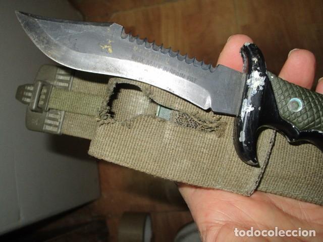 Militaria: OFERTA envio gratuito ! EL BUEN CAZADOR CUCHILLO puñal o daga REALIZADA EN ESPAÑA CON SU BAINA - Foto 13 - 191327411