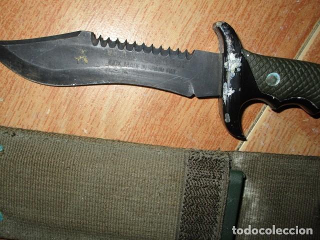 Militaria: OFERTA envio gratuito ! EL BUEN CAZADOR CUCHILLO puñal o daga REALIZADA EN ESPAÑA CON SU BAINA - Foto 14 - 191327411