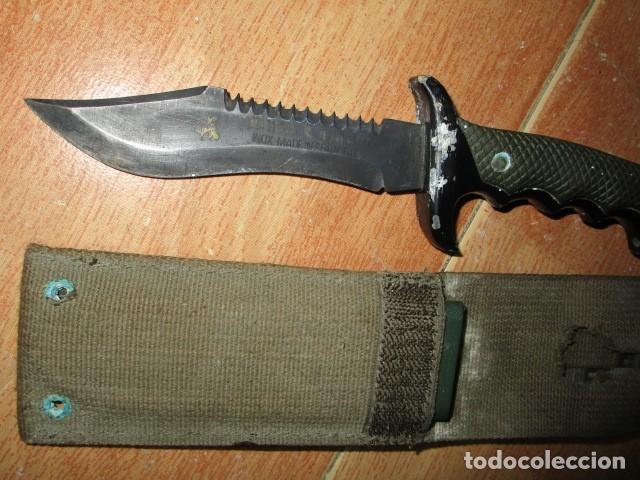 Militaria: OFERTA envio gratuito ! EL BUEN CAZADOR CUCHILLO puñal o daga REALIZADA EN ESPAÑA CON SU BAINA - Foto 17 - 191327411