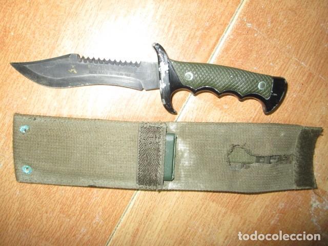 Militaria: OFERTA envio gratuito ! EL BUEN CAZADOR CUCHILLO puñal o daga REALIZADA EN ESPAÑA CON SU BAINA - Foto 18 - 191327411