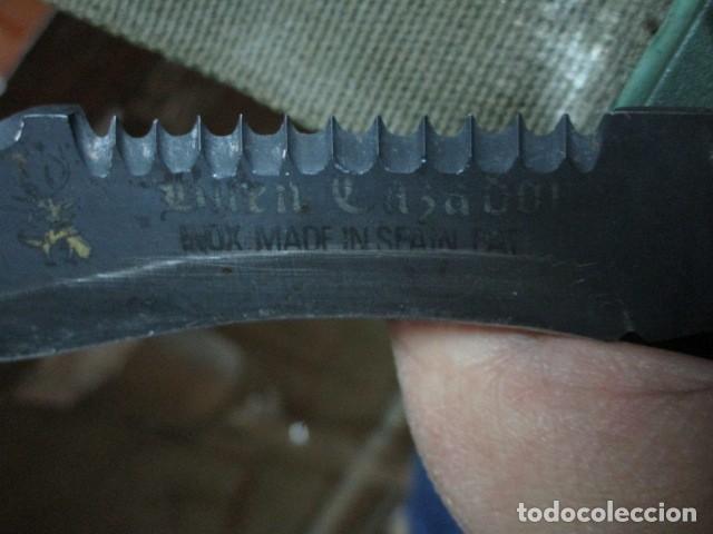 Militaria: OFERTA envio gratuito ! EL BUEN CAZADOR CUCHILLO puñal o daga REALIZADA EN ESPAÑA CON SU BAINA - Foto 22 - 191327411