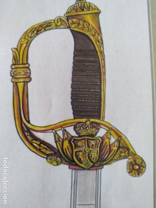 Militaria: Espada , sable alfonsino fabrica armas Toledo 1855 - Foto 10 - 191363276