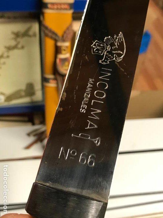 Militaria: Machete Colombia - incolma manizales n66 - Nuevo en perfecto estado - Foto 8 - 192754097