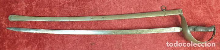 SABLE DE TROPA DE CABALLERÍA. ACERO TEMPLADO, TOLEDO. MODELO 1865. SIGLO XIX-XX. (Militar - Armas Blancas Originales Fabricadas entre 1851 y 1945)