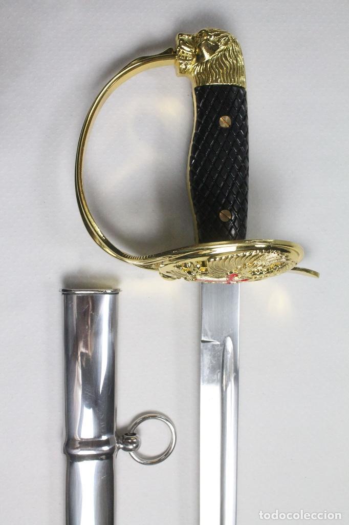 Militaria: Espada Sable Puerto Seguro Reglamento de 1943/79 para oficial del Ejército Español - Foto 5 - 194752207