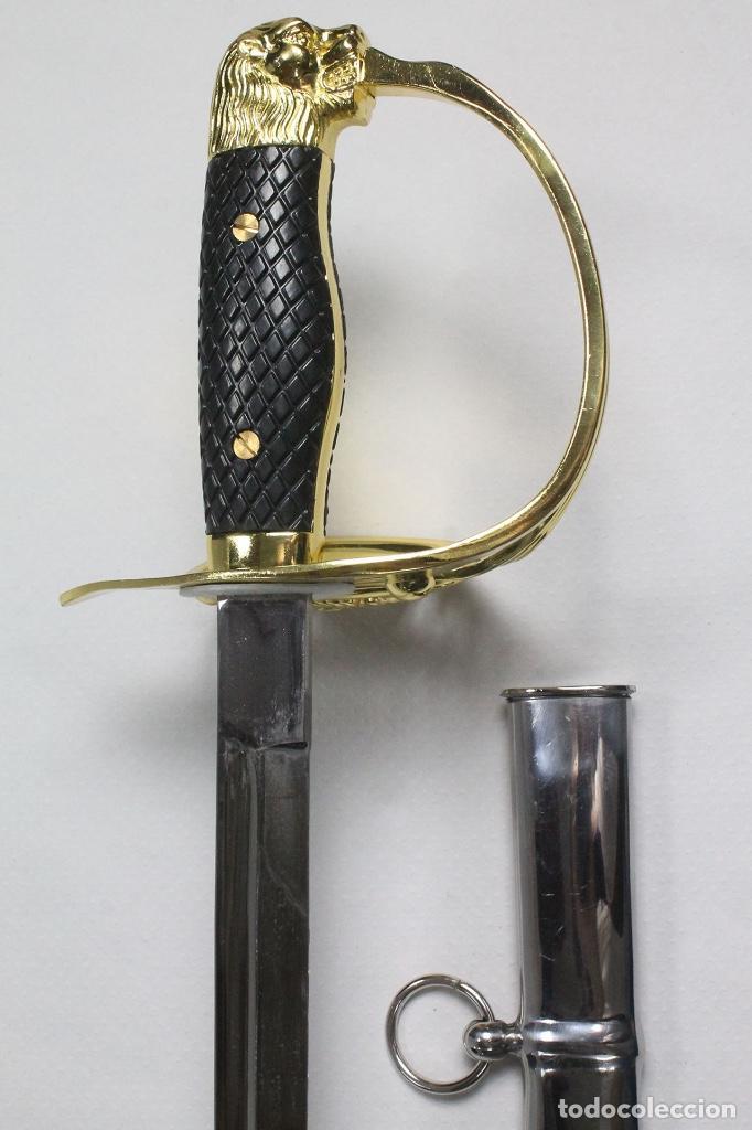 Militaria: Espada Sable Puerto Seguro Reglamento de 1943/79 para oficial del Ejército Español - Foto 6 - 194752207
