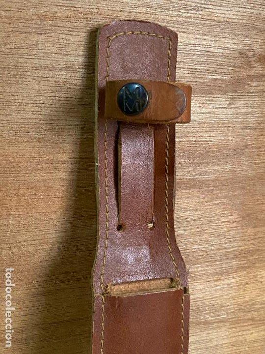 Militaria: Cuchillo de lanzar muela con su funda original - Muela - Foto 11 - 194896747