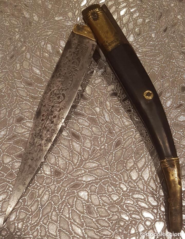 NAVAJA ALBACETE ANTIGUA (Militar - Armas Blancas Originales de Fabricación Anterior a 1850)