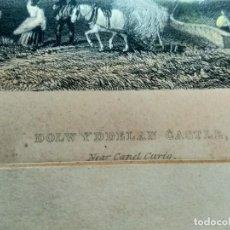 Militaria: GRABADO W. RADCLYFFE, DOLWYDDELAN CASTLE . Lote 195058498