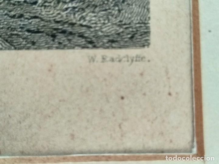Militaria: GRABADO W. RADCLYFFE, DOLWYDDELAN CASTLE - Foto 2 - 195058498