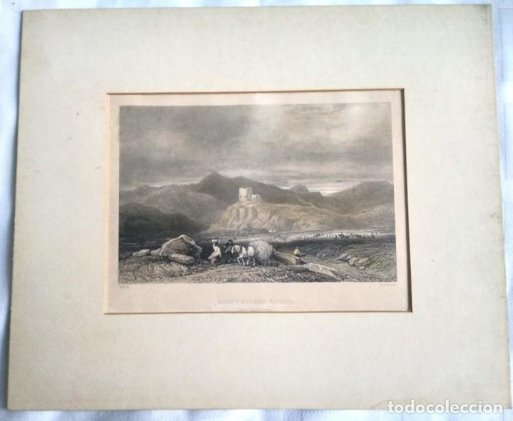 Militaria: GRABADO W. RADCLYFFE, DOLWYDDELAN CASTLE - Foto 8 - 195058498