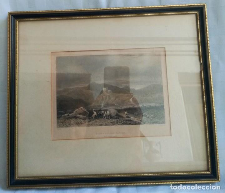 Militaria: GRABADO W. RADCLYFFE, DOLWYDDELAN CASTLE - Foto 9 - 195058498