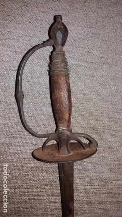 ESPADA ROPERA S.XVII - XVIII (Militar - Armas Blancas Originales de Fabricación Anterior a 1850)