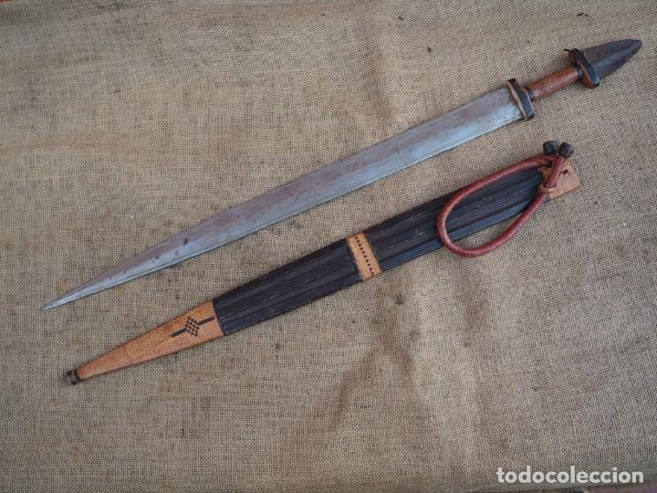 ESPADA DE CAMELLERO DEL SUDÁN (Militar - Armas Blancas Originales Fabricadas entre 1851 y 1945)