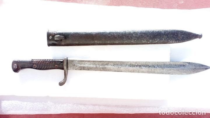 BAYONETA ALEMANA IWW MOD:1898/5 (Militar - Armas Blancas Originales Fabricadas entre 1851 y 1945)