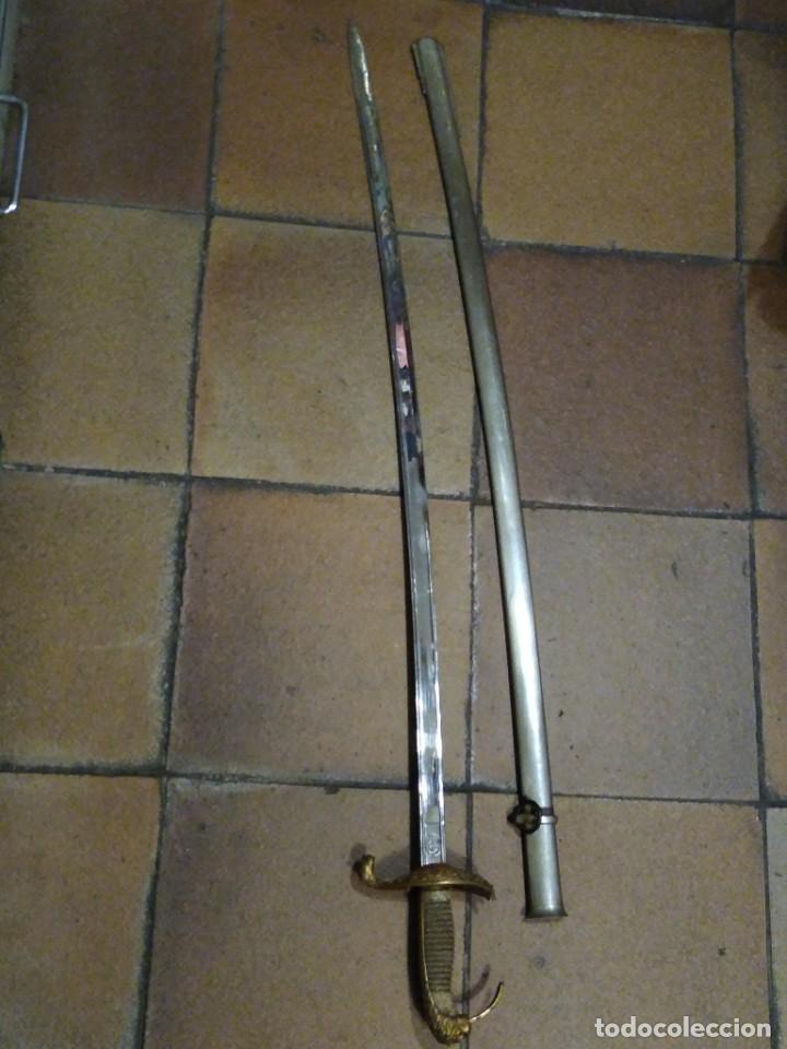 ESPADA SABLE ARTILLERÍA TOLEDO. (Militar - Armas Blancas Originales Fabricadas entre 1851 y 1945)
