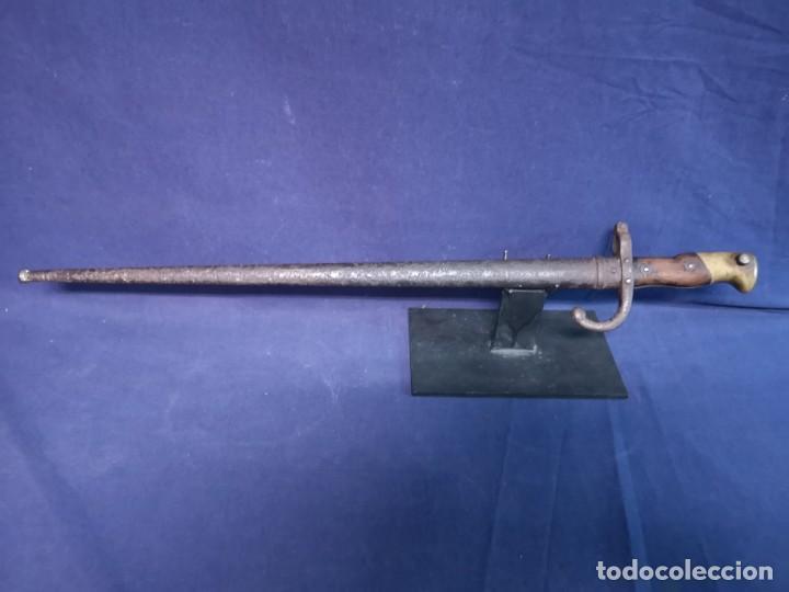 BAYONETA FRANCESA PARA EL FUSIL GRASS (Militar - Armas Blancas Originales de Fabricación Anterior a 1850)