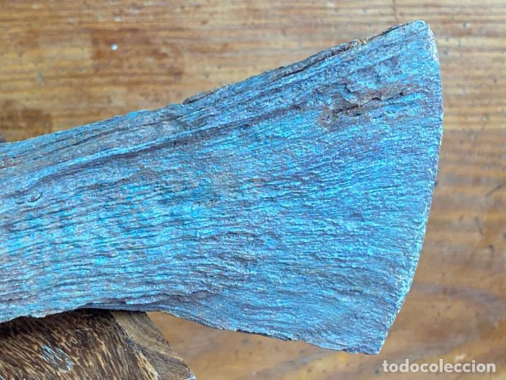 Militaria: Hacha o herramienta antigua - Foto 4 - 204275990
