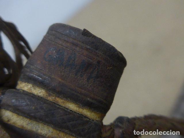 Militaria: Antiguo gran cuchillo espada africano original, de ghana o lobi de burkina faso. Africa. - Foto 14 - 205203582