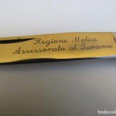 Militaria: NAVAJA SICILIANA CACHAS ASTA Y PUNTA REDONDA. MICHELE FRARACCIO. ITALY. Lote 205234346