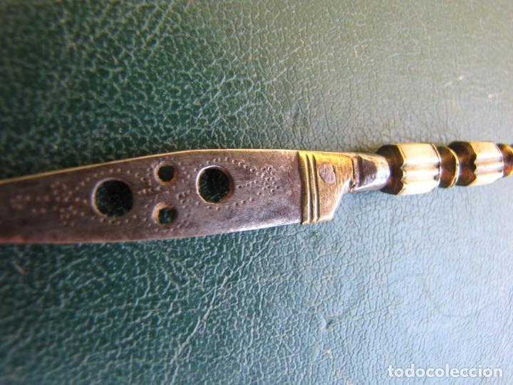 Militaria: 2- Pequeño puñal albaceteño. 9 cm. S XVIII - Foto 9 - 205576602