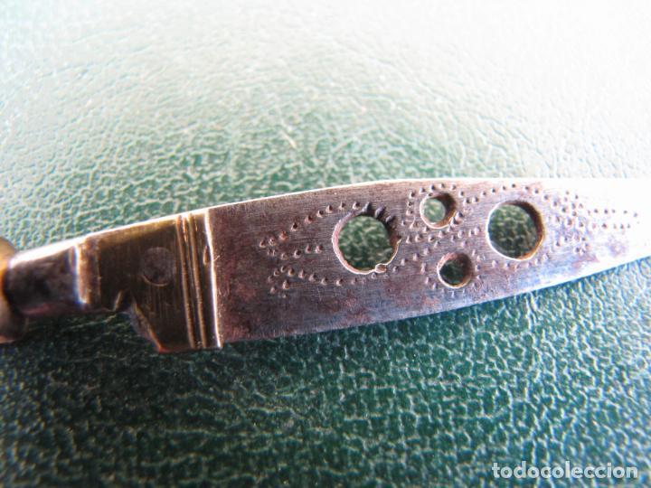 Militaria: 2- Pequeño puñal albaceteño. 9 cm. S XVIII - Foto 11 - 205576602