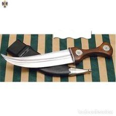 Militaria: DAGA ARABE PUÑAL CUCHILLO MORO SIGLO VIII 36 CMS. Lote 206427505