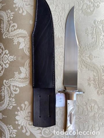 BILL REDDIEX BOWIE MADREPERLA (Militar - Armas Blancas Originales de Fabricación Posterior a 1945)