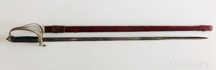 Militaria: Espada de caballería oficial británica sudafricana única modelo 1821, Wilkinson, Londres - Foto 6 - 206827521