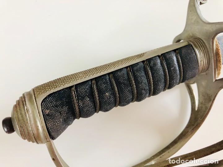 Militaria: Espada de caballería oficial británica sudafricana única modelo 1821, Wilkinson, Londres - Foto 22 - 206827521