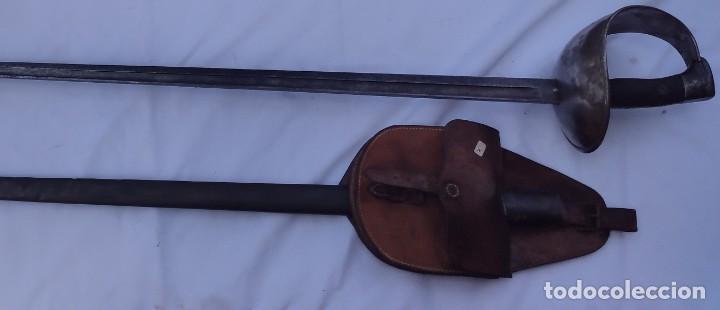 SABLE DE PUERTO SEGURO DE CABALLERÍA (Militar - Armas Blancas Originales Fabricadas entre 1851 y 1945)