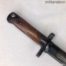 Militaria: ITALIA. BAYONETA ITALIANA M1938 PARA EL MANNLICHER-CARCANO M1938 FUCILE CORTO. HOJA FIJA. CON MARCA. Lote 210638835