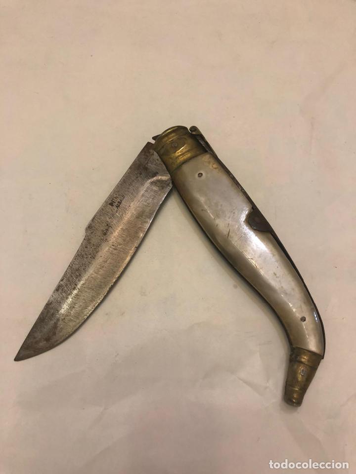 NAVAJA DE ALVACETE (Militar - Armas Blancas Originales de Fabricación Posterior a 1945)